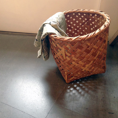 竹かご、竹バスケット