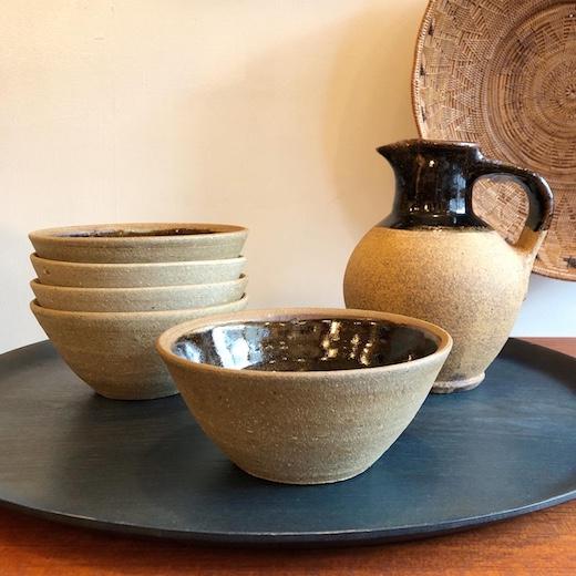 バーナードリーチ、スタンダードウェアボウル、リーチ工房、イギリス陶器、スリップウェア、船木研兒、民藝