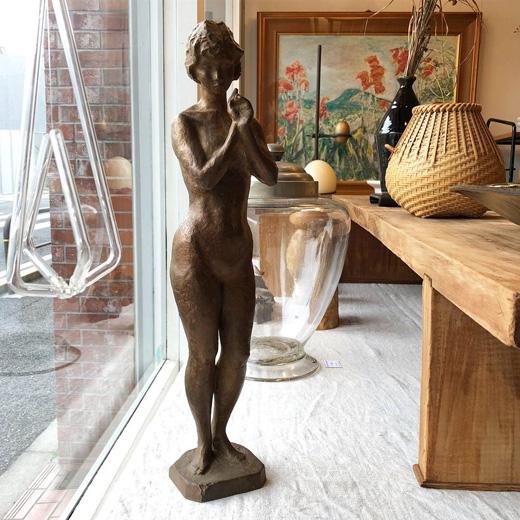 佐々木日出雄、彫刻、ブロンズ像、裸婦像、佐々木大樹、アート
