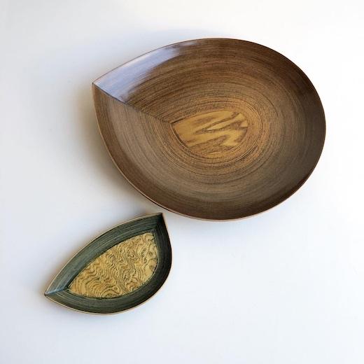 ブナコ、bunaco、伝統工芸品、青森、望月好夫、菓子皿