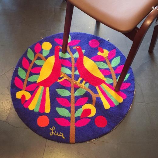 ベネゼエラ、絨毯、クラフト、手工芸品、モダン、トロピカル、ヴィンテージ