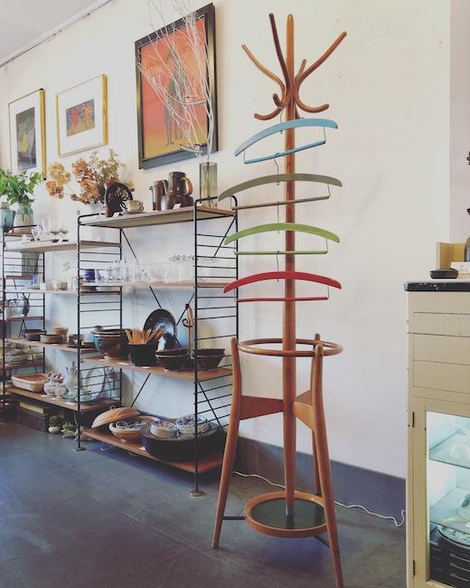 ヴィンテージ、木製ハンガー、カラーハンガー、レトロ雑貨、古道具