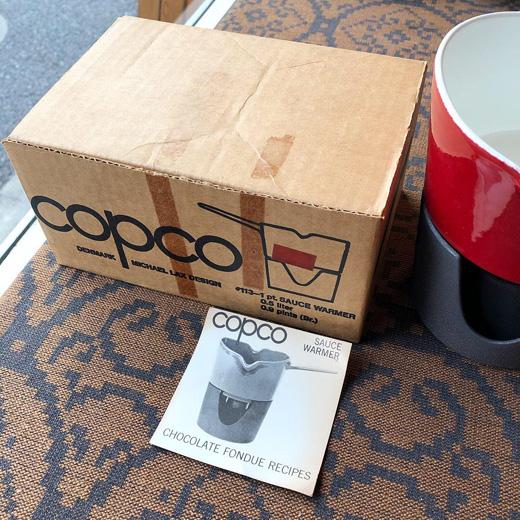 copco、コプコ、ソースウォーマー、ホーロー鍋、北欧ヴィンテージ、北欧デザイン
