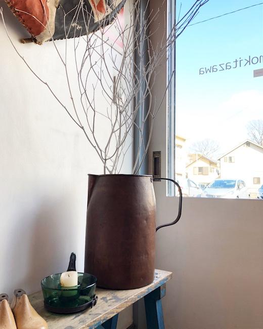 銅製ジャグ、水差し、コッパー、銅器、ハンドクラフト、ヴィンテージ