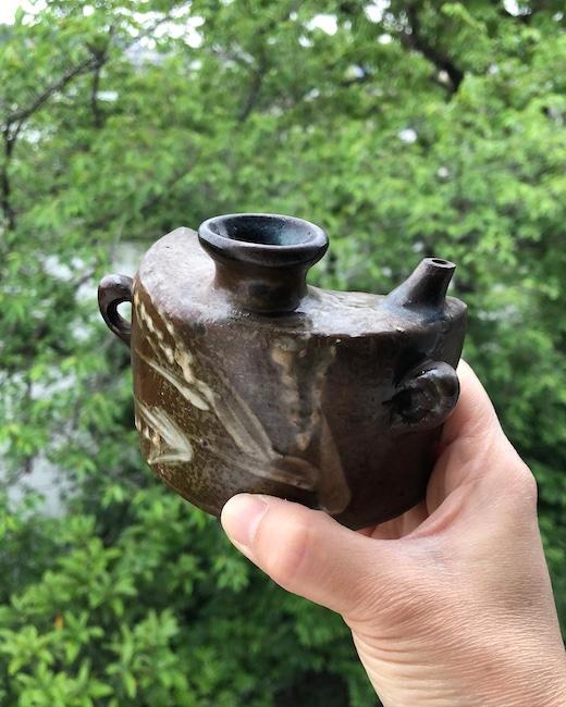 抱瓶、沖縄、民芸陶器、焼き物、古陶、花器