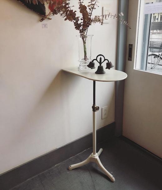フラワースタンド、昇降テーブル、フレンチ、ヴィンテージ、リメイク
