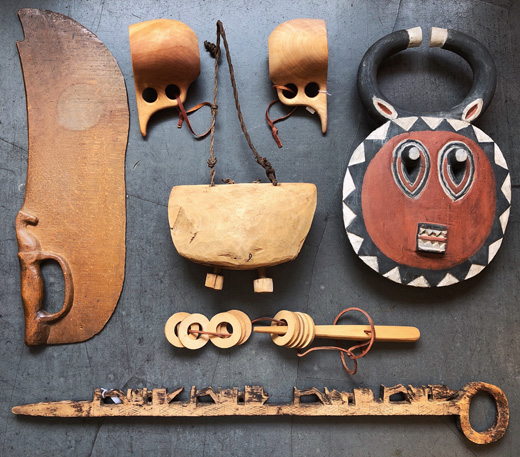 世界の民芸、フォークアート、民芸玩具、木工品、プレプレ、カウベル、ククサ、民族雑貨、ヴィンテージ雑貨
