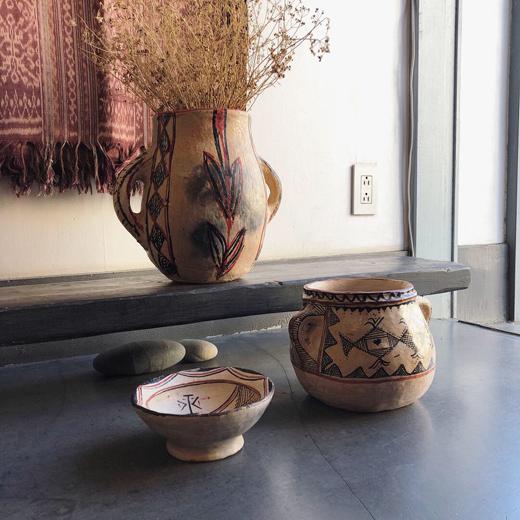 チュニジア、焼き物、土器、フォークアート、クラフト、ヴィンテージ、民芸