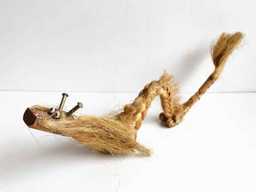 郷土玩具、龍、縄人形、民芸品、フォークアート
