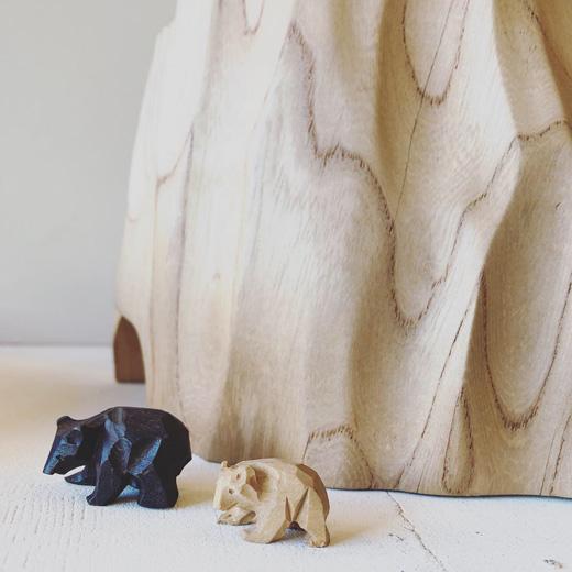 木彫り熊、一刀彫、郷土玩具、スーベニア、クラフト、民芸、ミニチュア、戦前