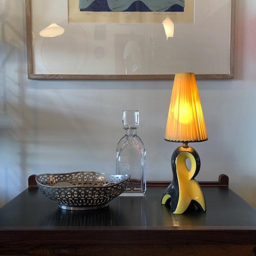 フレンチヴィンテージ、50s、テーブルランプ、モダン、ファッショナブル