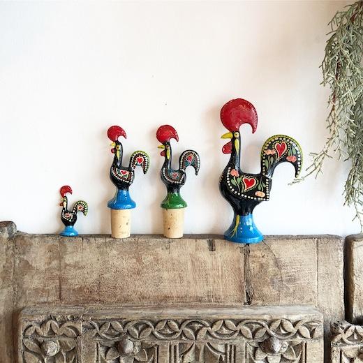 ガロ、ポルトガル民芸、お土産品、ニワトリ、幸運アイテム
