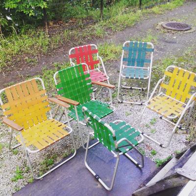 ガーデンチェア、折りたたみ、フォールディングチェア