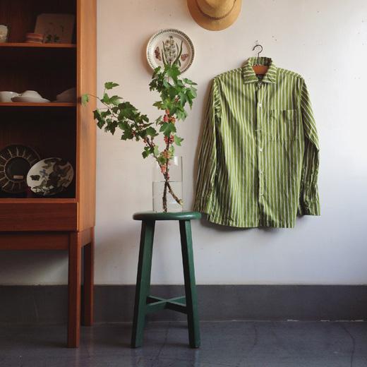ヴィンテージインテリア、グリーンカラー、グリーンのある暮らし、ヴィンテージ家具、マリメッコ、ヨカポイカ