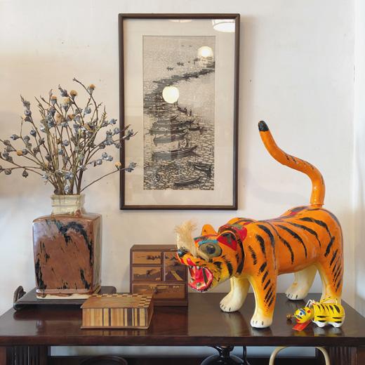 張子の虎、奥山儀八郎、佐久間藤太郎、季節のしつらえ、端午の節句