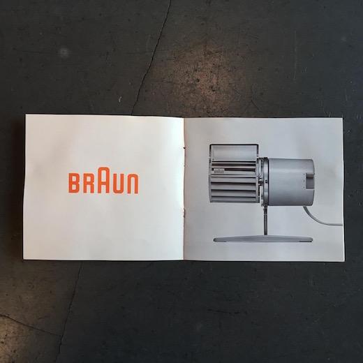 hl1deskfan、ドイツ、ブラウン、braun、デスクファン、卓上扇風機、momaコレクション、モダンデザイン、レインホルドヴァイス