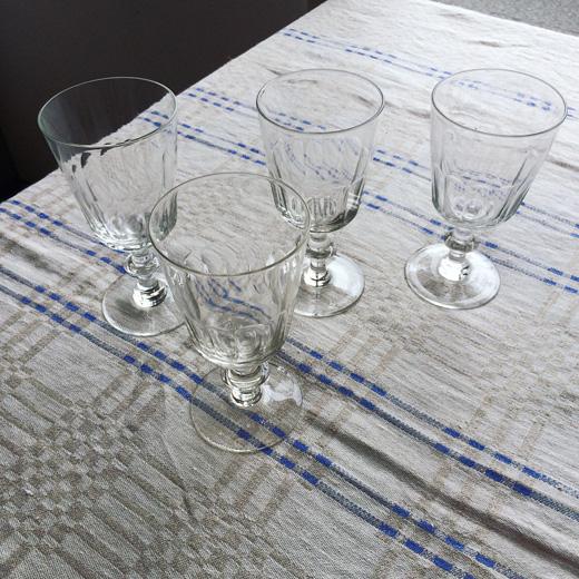 北欧ヴィンテージ、アンティーク、ワイングラス、ホルムガード、北欧ガラス、christiand8