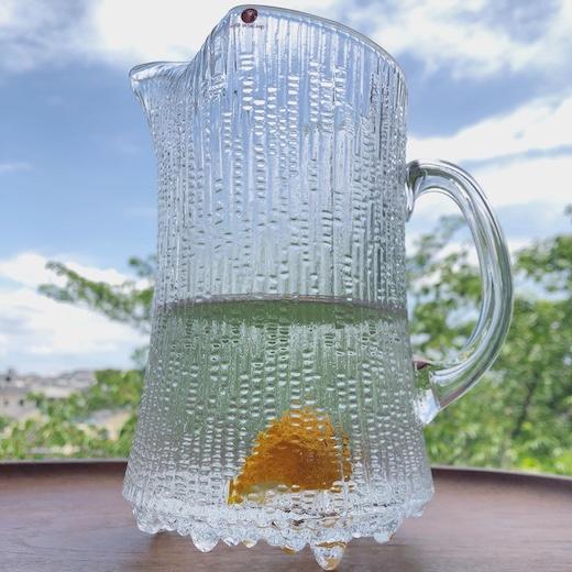 イッタラ、ウルティマツーレ、ピッチャー、水差し、フラワーベース、タピオウィルカラ、北欧ガラス