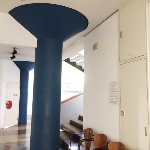 東京日仏学院、マッシュのホームパーティー、坂倉準三建築