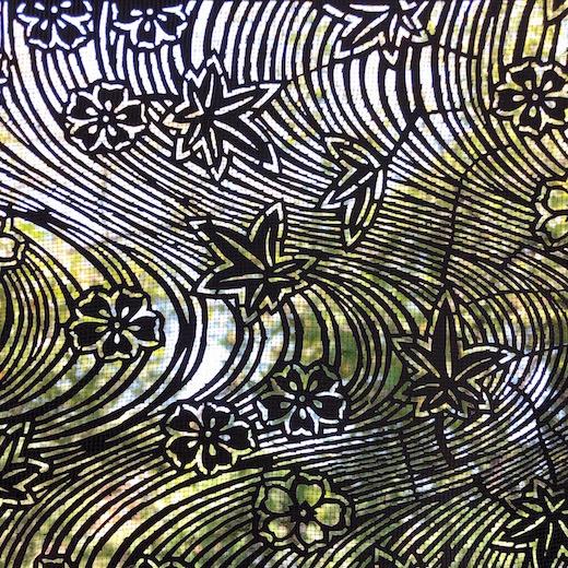 ヴンテージ、伊勢型紙、切り絵、アート、和モダン、紅葉、撫子、秋の情景、季節のしつらえ