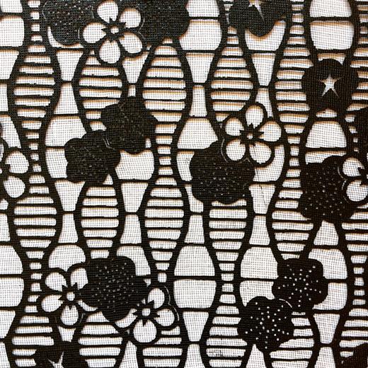 伊勢型紙、ヴィンテージ、未使用、紅白梅、伝統文様、和モダン、伝統工芸品、型染、図案