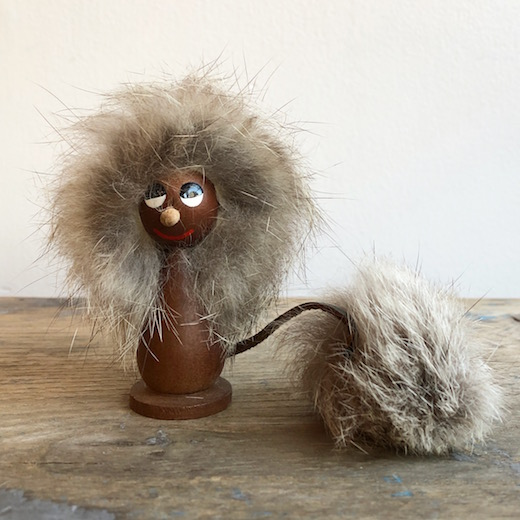 イタリア、スーベニア、木のおもちゃ、妖精、精霊、ニンファ、トロール人形