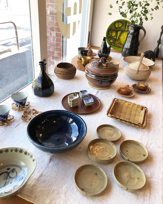 和食器、民芸、焼き物、ヴィンテージ、手仕事、春の食卓