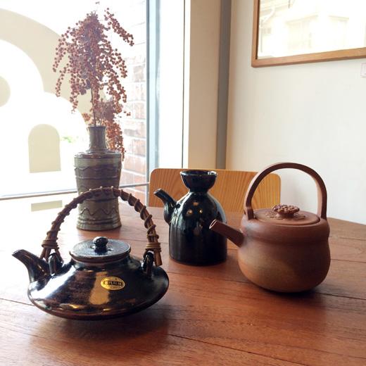 器、酒器、陶器、和食器、黒千代香、銚子、カラカラ、民芸