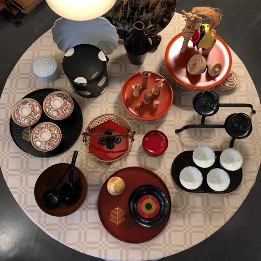 お正月準備、和食器、漆器、塗物、ヴィンテージ、和モダン、ハレの日の器