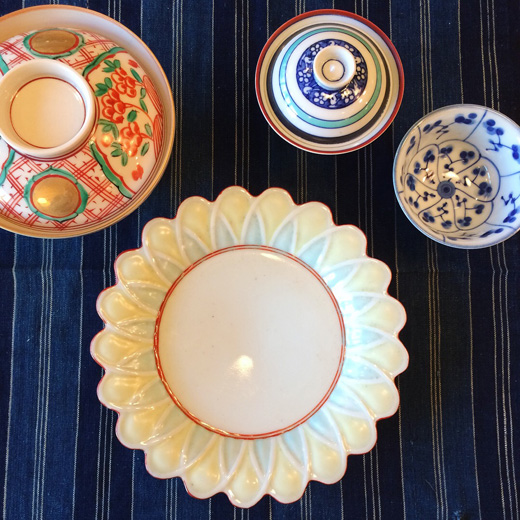 和食器、器、ハレの日の器、京焼、お正月のしつらえ