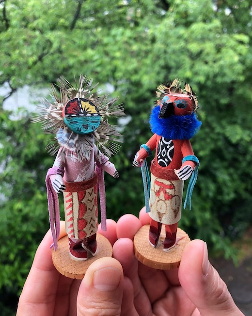ネイティブアメリカン、カチナ、カチーナ人形、フォークアート、ヴィンテージ、精霊、ホピ族