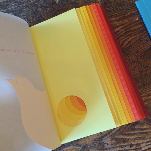 駒形克己、絵本、特殊製紙、onestroke、yellowtored