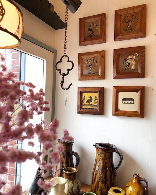 民藝、民陶、スリップウェア、船木研兒、濱田庄司、島岡達三、出西窯、湯町窯、コレクション、バーナードリーチ
