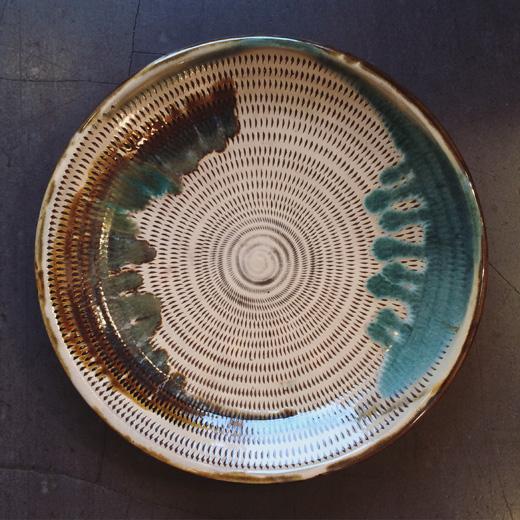 小石原焼、民芸、大皿、クラフト、陶芸、民陶、モダンクラフト