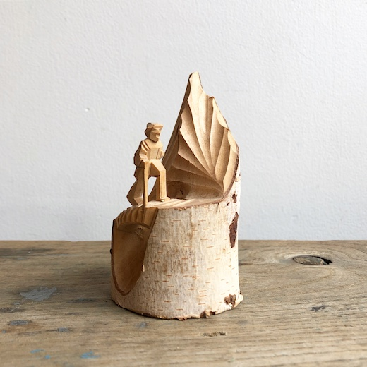 一刀彫り、木彫り、こけし、郷土玩具、郷土土産、登山人形、富士山