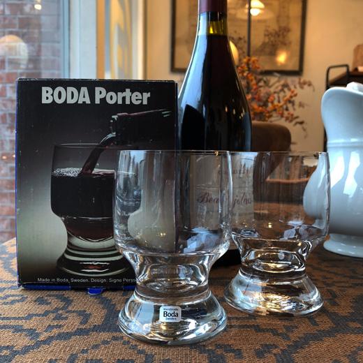 北欧デザイン、北欧ヴィンテージ、コスタボダ、ポーター、ワイングラス、シグネペーションメリン、モダン、ヴィンテージ