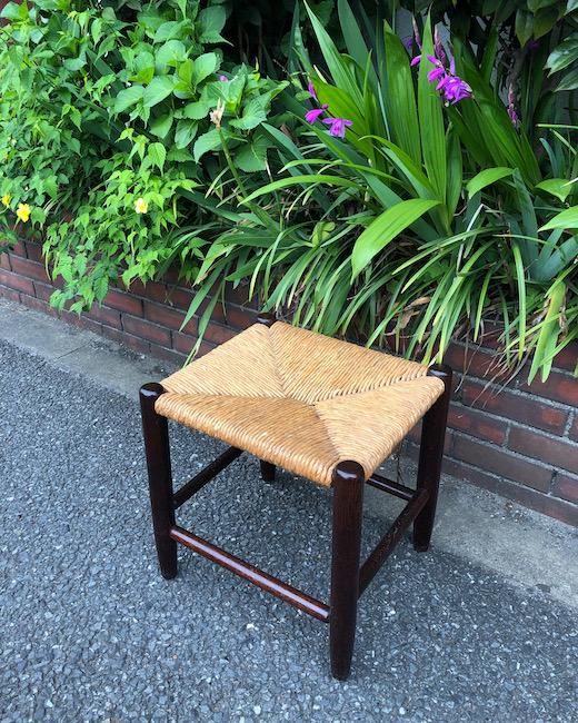 松本民芸家具、ラッシスツール、用の美、スツール、ヴィンテージ