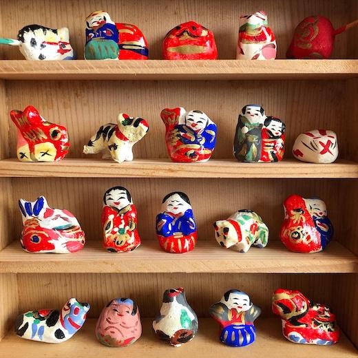 宮内フサ、高松張子、嫁入人形、郷土玩具、民藝、人間国宝