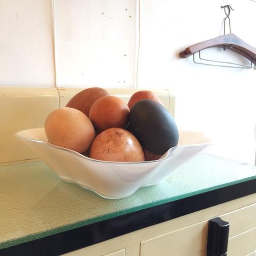 木製、卵、エッグ、アートオブジェ、インテリアデコール、モダンクラフト、ミックス卵