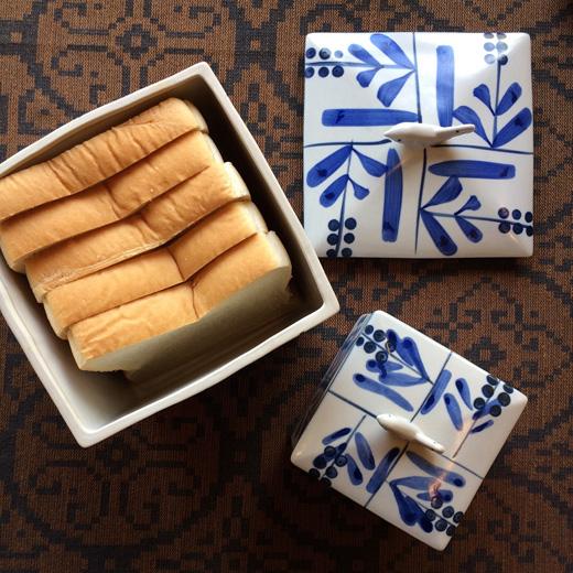 パンケース、食パンケース、陶器、日本クラフト、ヴィンテージ、器、モダンデザイン