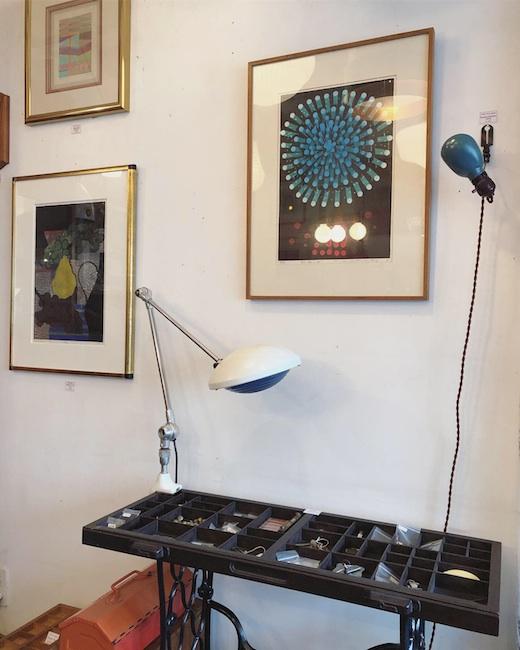 ナンセンス下北沢、照明、版画、アート、古道具、ヴィンテージ、インテリアショップ