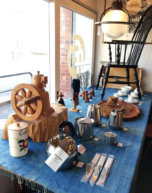 ナンセンス下北沢、テーブルコーディネート、クラフトコーヒー、コーヒー道具