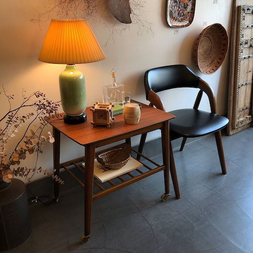 ヴィンテージ家具、ナンセンス下北沢、チーク家具、北欧、モダン