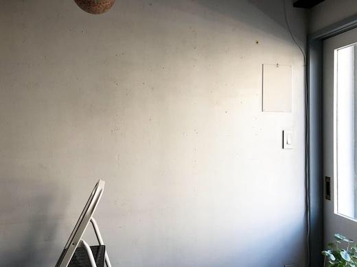 ナンセンス下北沢、店内、ペンキ塗り立て、ヴィンテージインテリア、古道具