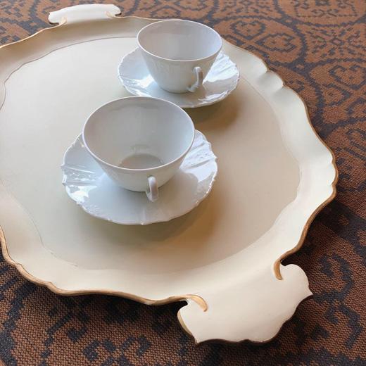 紙漆器、紙皿、紙工芸、漆器、トレー、ヴィンテージ雑貨