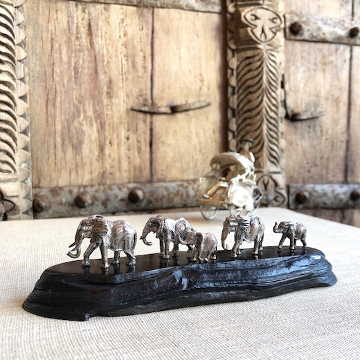 アフリカ、シルバージュエリー、シルバー彫刻、patrickmavros、像スカルプチャー、置物