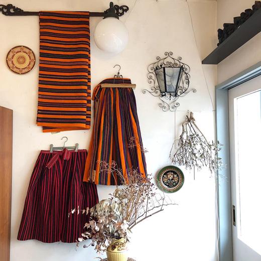ヴィンテージファブリック、織物、民族衣装、ポーランド、伝統衣装、オポチュノ、ヴィンテージファッション、1960年代
