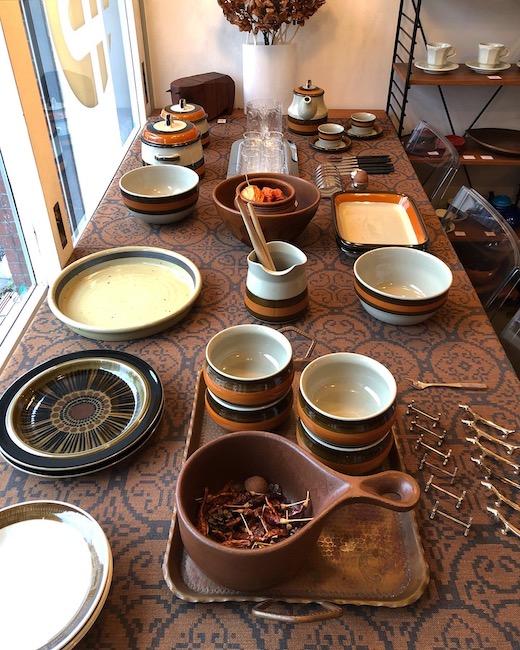 北欧ヴィンテージ食器、ロールストランド 、アニカ、イッタラフローラ、アラビアコスモス