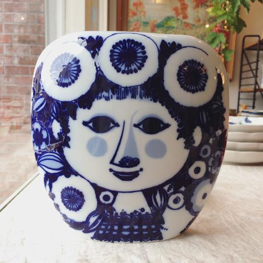 ローゼンタール製、Bjorn Wiinbladデザイン陶器ベース。