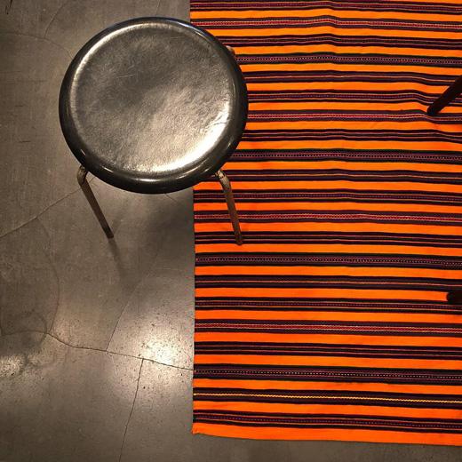 ヴィンテージラグ、織物、ポーランド、オポチュノ、伝統衣装、ハンドクラフト、敷物